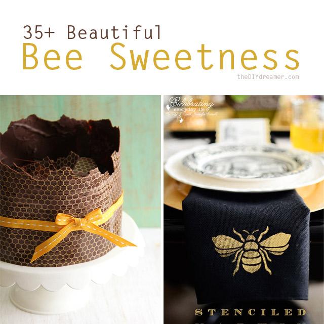 35+ Beautiful Bee Sweetness
