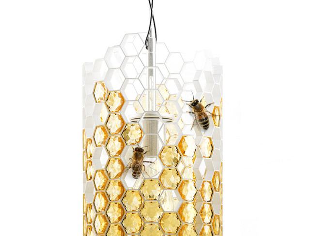 Gorgeous Beehive lamp