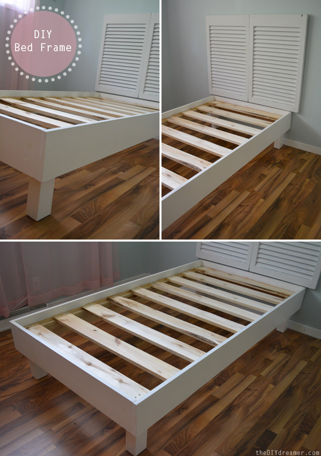 Cool How to make a DIY Bed Frame