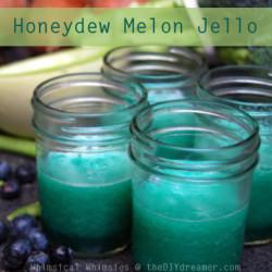 Honeydew Melon Jello