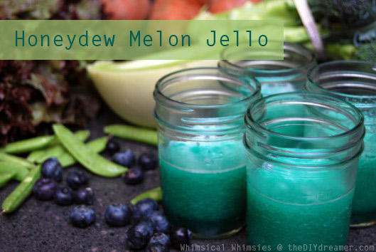 Honeydew Melon Jello