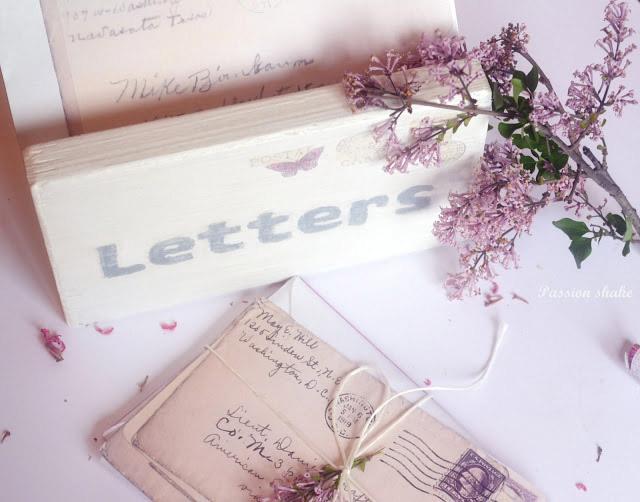 DIY Vintage Letterbox