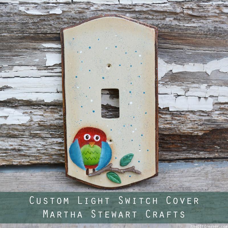 Custom Light Switch Cover Tutorial