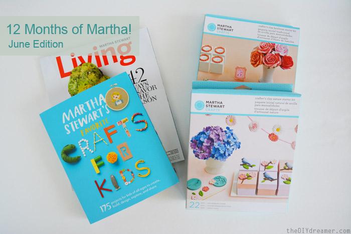 12 Months of Martha June Supplies #12MonthsofMartha