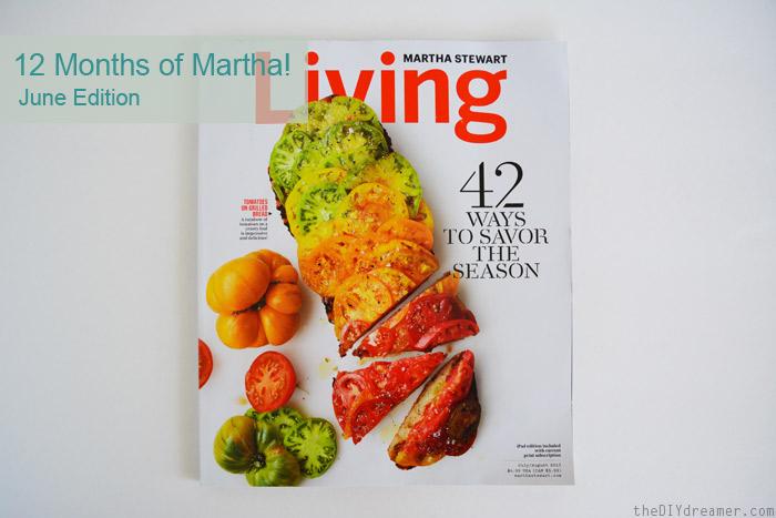 Martha Stewart Living July Edition