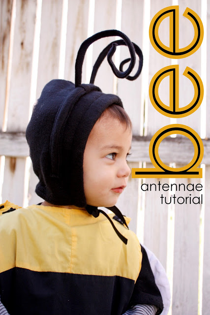 Bumble Bee Antennae Tutorial
