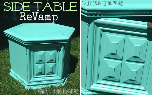 Side table revamp
