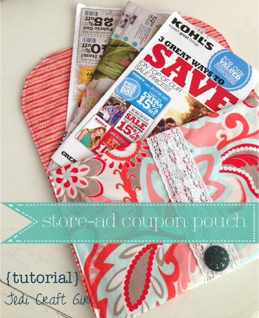 Store-Ad Coupon Pouch Tutorial