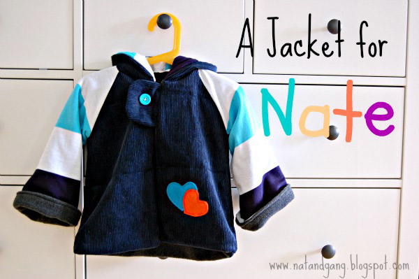 DIY Jacket for little boy