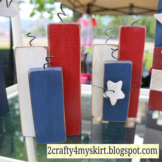 DIY Small Firecracker Decoration