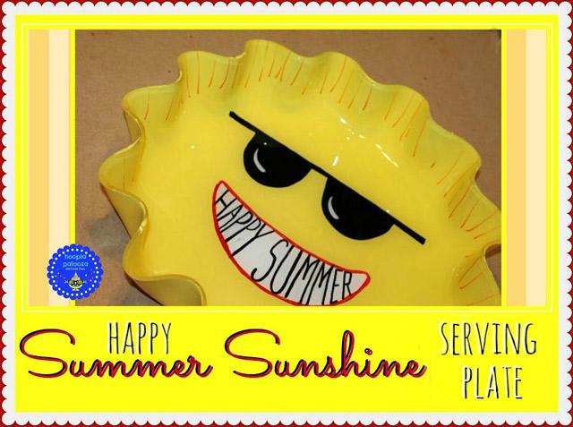 Sunshine Serving Plate