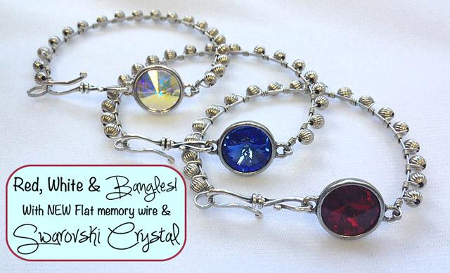 How to make bangle bracelets