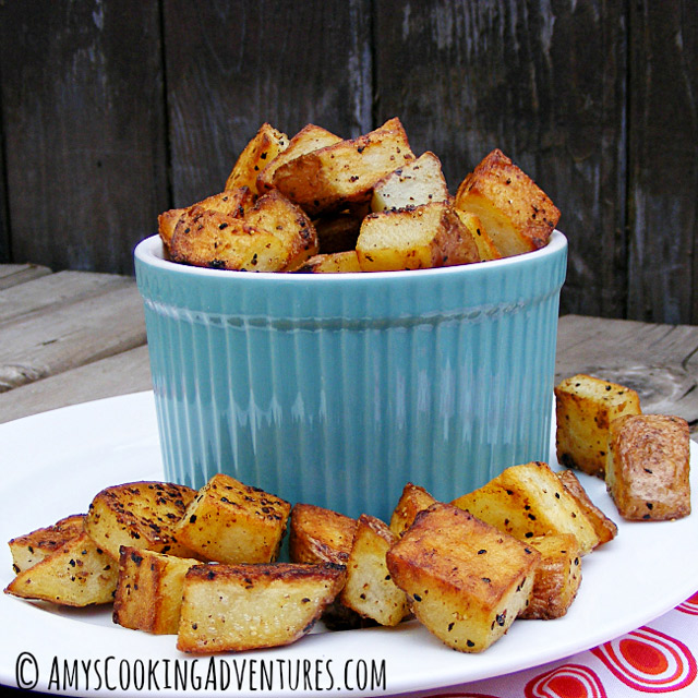 The Best Crispiest Skillet Potatoes