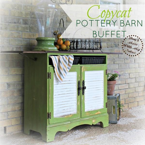 Copycat Pottery Barn Buffet