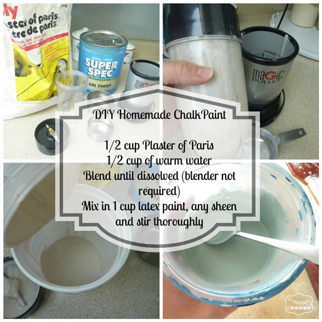 DIY Chalk-based Paint Recipe
