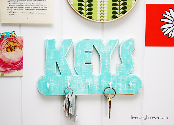 DIY Key Holder Tutorial