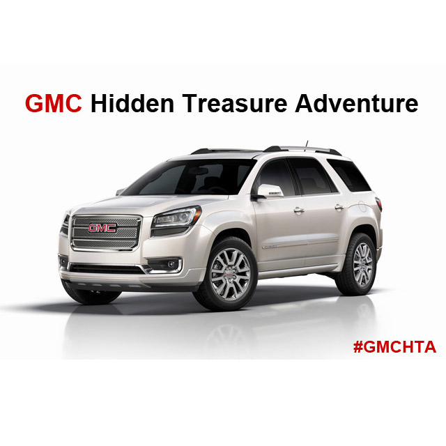 GMC Hidden Treasure Adventure #GMCHTA – Introduction