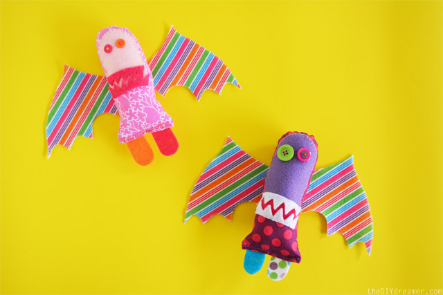 Hand-Drawn Stuffed Toys