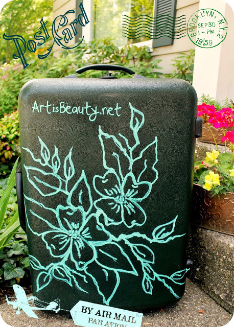 Personalized Luggage Tutorial