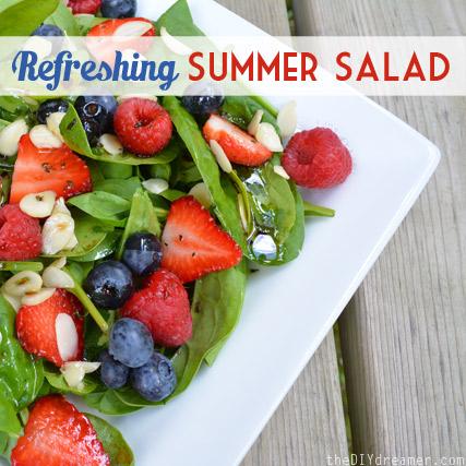 Deliciously Refreshing Summer Salad! So good!