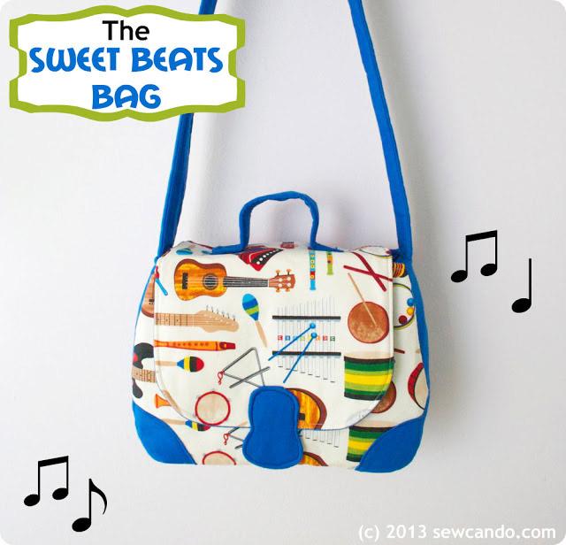 Sweet Beats Toddler Bag