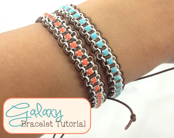 Galaxy Bracelet Tutorial - Set of Two