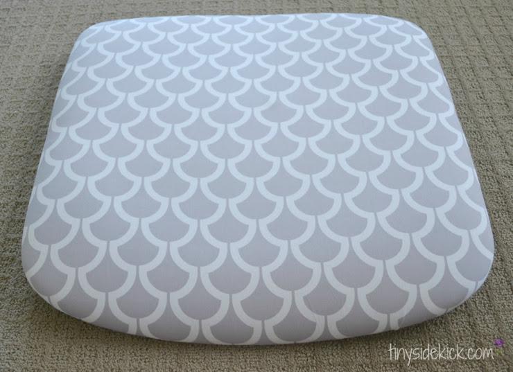 Reupholstered Cushion