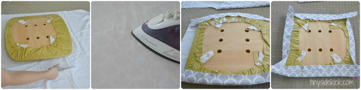 How to sew dining chair cushions