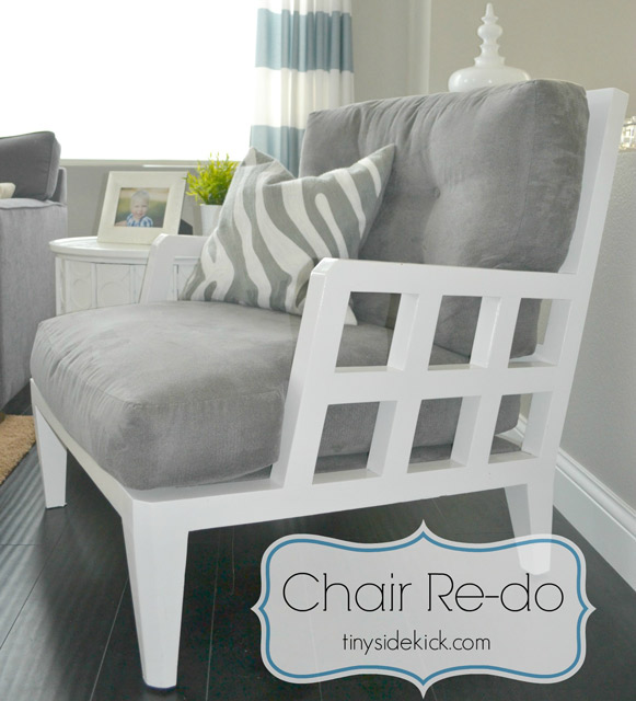 Mid Century Modern Chair Makeover