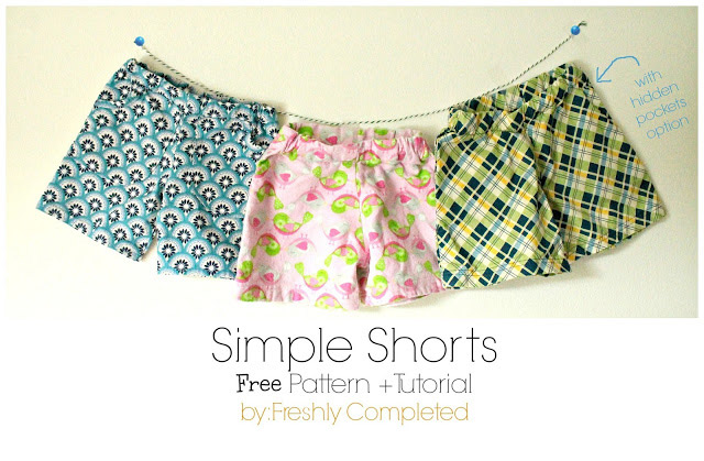 Shorts Pattern and Tutorial