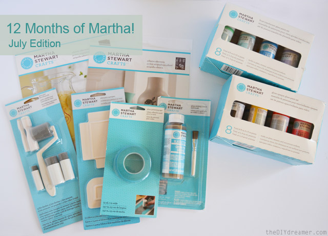 12 Months of Martha - July Box of Supplies #12MonthsofMartha