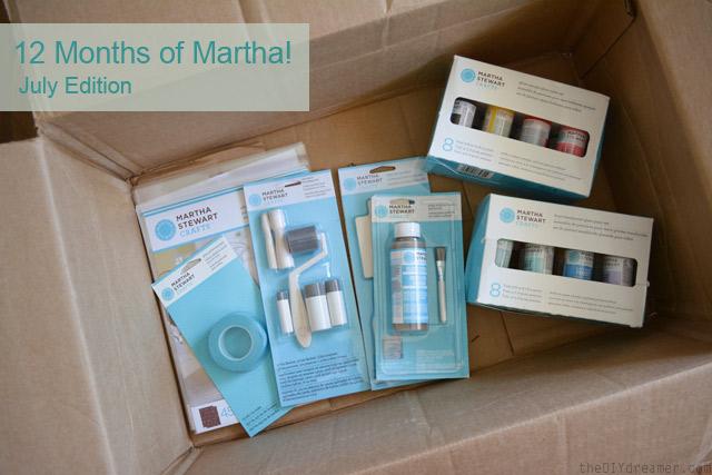 Martha Stewart Crafts Glass Painting Supplies #12MonthsofMartha