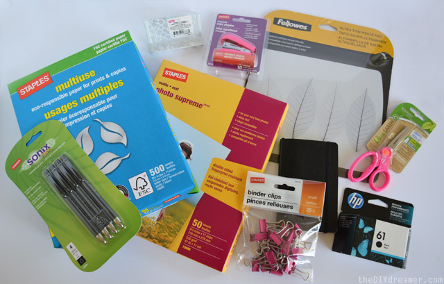 Office Supplies from Staples