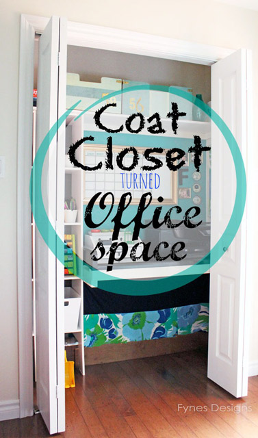 Coat Closet turned in Office Space