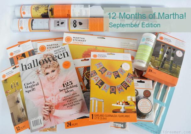 Martha Stewart Crafts Halloween Supplies and Decorations #12MonthsOfMartha