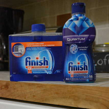 FINISH® Dishwasher Products #FINISHTHEDISHES