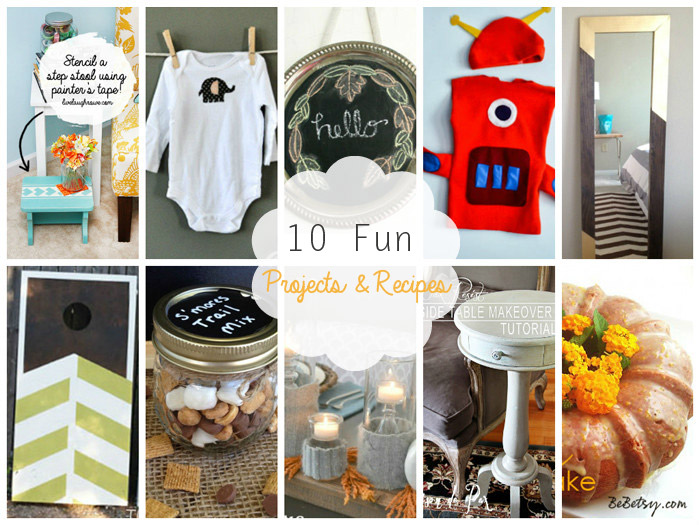 10 really FUN Projects and Recipes - theDIYdreamer.com