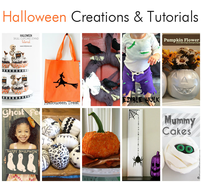 Halloween Creations and Tutorials - Packed full of great ideas!