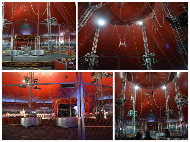 Inside the Shrine Circus Big Top