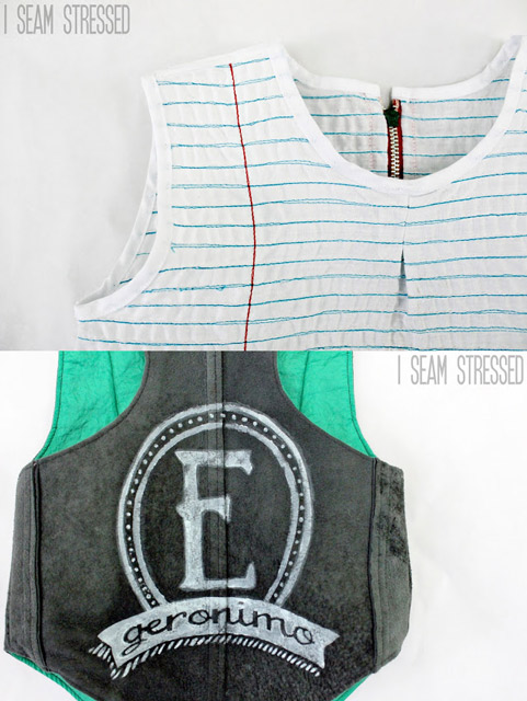 Lined Paper Shirt and Vest - Sewing Projects