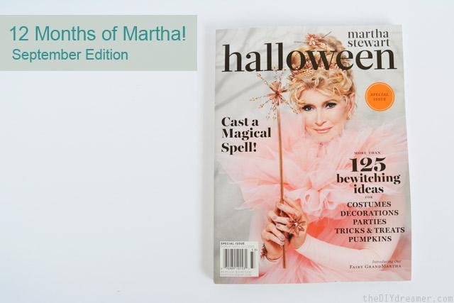 Martha Stewart Halloween 2013 Special Issue