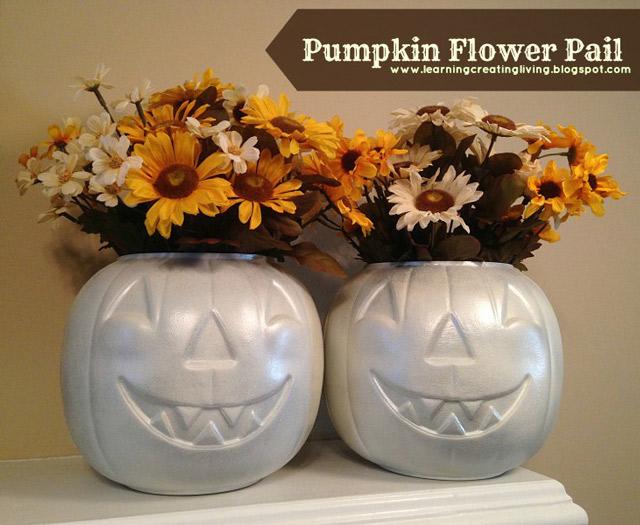 How to Paint a Pumpkin Pail