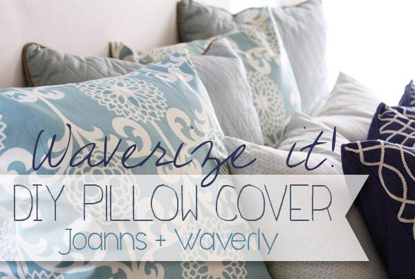 DIY Pillow Cover Tutorial