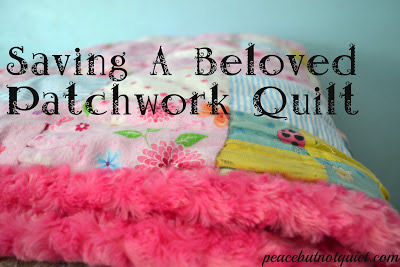 How to fix an old quilt