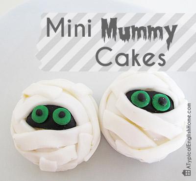 Mini Mummy Cakes