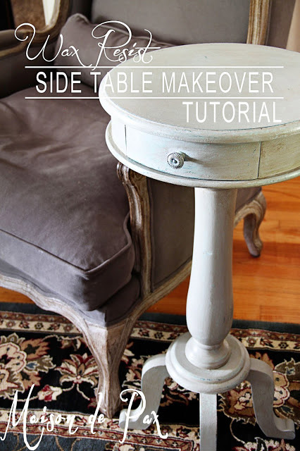 Beautiful Side Table Makeover + Tutorial