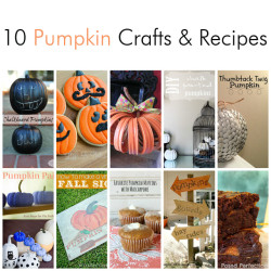 10 Pumpkin Crafts and Recipes