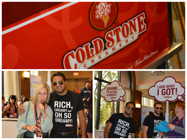 Cold Stone Creamery at BlissDom Canada