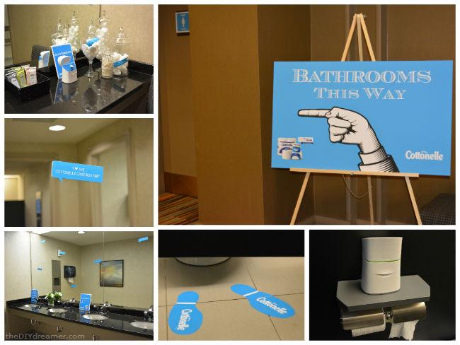 Cottonelle Bathroom #LetsTalkBums