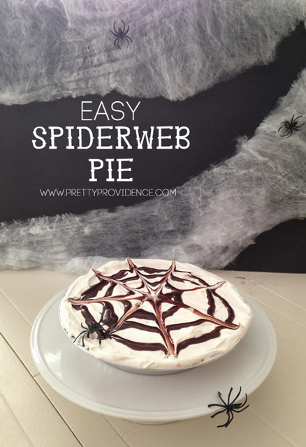 Easy Spiderweb Pie Recipe
